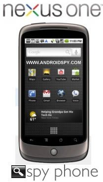 Nexus One Spy Software